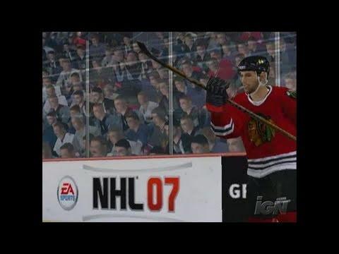 NHL 07 Xbox Gameplay - Fighting