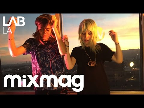 MIJA b2b ANNA LUNOE bass, house and hip hop set in The Lab LA