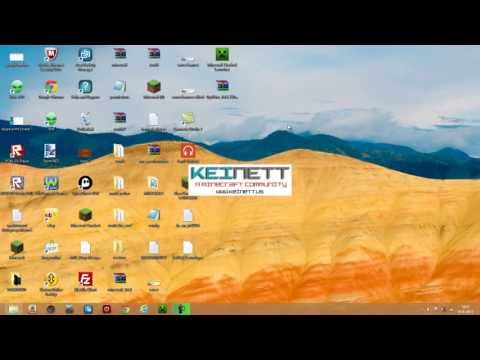 1 6 (+1.7) how to install mods with Keinett launcher