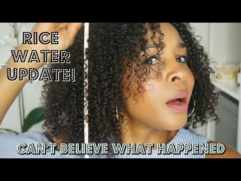 Rice Water Update! This Is What Happened To My Hair in Just 30 days! | Mel's World