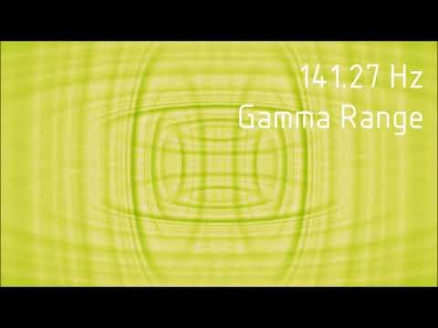 Pure 141.27 Hz Gamma Range Binaural Beats [30 min]