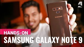 Samsung Galaxy Note9 hands-on review