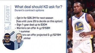 What Deal Should Kevin Durant Ask The Warriors For? | Jalen & Jacoby | Espn