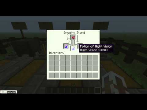 How to make an invisibility potion in minecraft