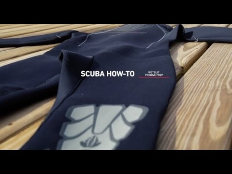 Scuba Diving How-To: Pre-Dive Wetsuit Care