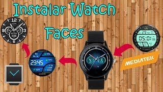 How to install custom watch face to lemfo watch and android