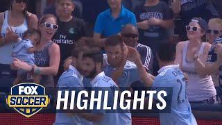 Sporting Kansas City vs. Los Angeles Galaxy | 2017 MLS Highlights