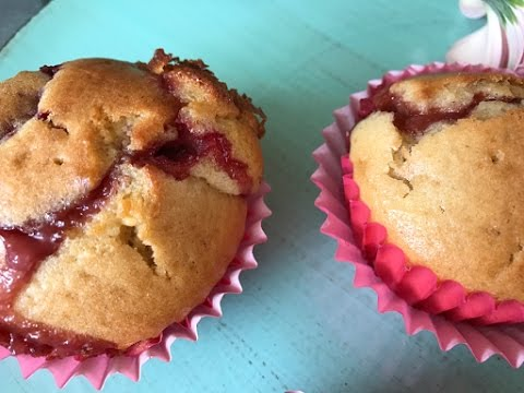 Strawberry White Chocolate Muffins - Episode 311- Baking with Eda