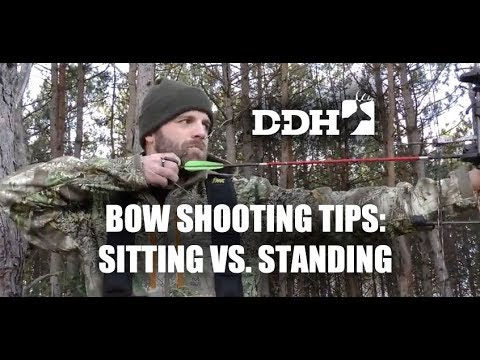 Bow Shooting Tips: Sitting Vs. Standing