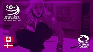 Download Canada v Denmark - round robin - LGT World Women's Curling Championships 2019 Video
