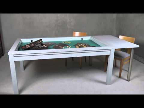 Making the gaming table for Richard Ham (Rahdo Runs Through)
