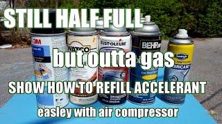 Refill aerosol can!