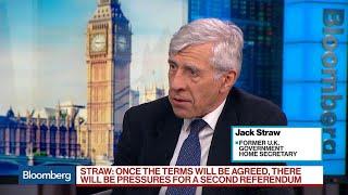 Ex-U.K. Home Secretary Sees a Second Brexit Referendum