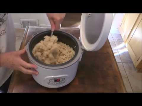 Steaming Machine BROWN RICE