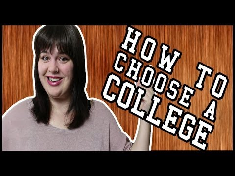 College Admissions: How to Choose a College