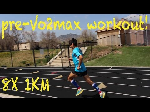 Sage Canaday: Training For an OTQ | Episode 16: Vo2max track workout for Boston Marathon training