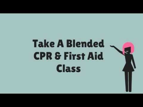 Take A Blended CPR and First Aid Class