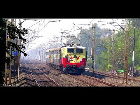 6 Coacher India`s SMALLEST Exp Train | Beauty WAG 5 with Asansol-Haldia Exp skips Khirai