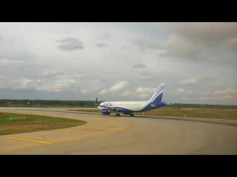 Airplane reverse landing