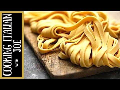 How to make Homemade Pasta Cooking Italian with Joe