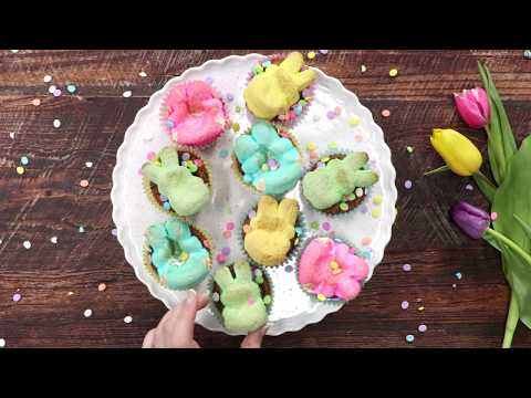 Chubby Bunny Mini Cupcakes | MyRecipes