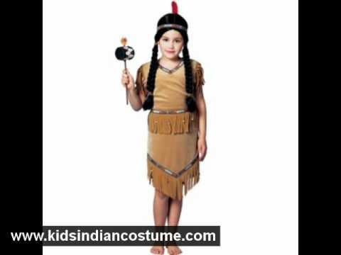 Halloween Costume Ideas: Kids Indian Costume - Kidsindiancostume.com