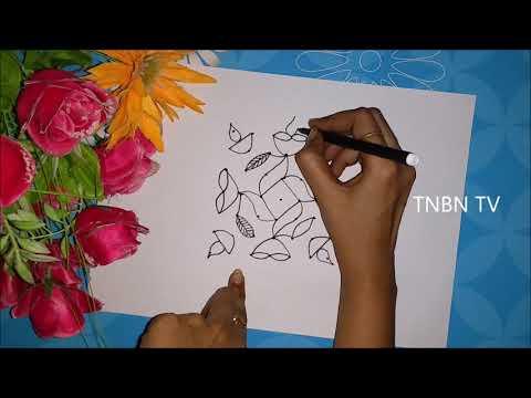 simple kolam designs for home | rangoli designs easy and simple | creative muggulu designs | TNBN Tv