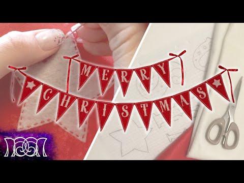 Christmas Banner - DIY
