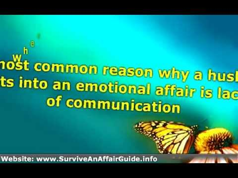 if Your Husband is having Emotional Affair -► What You should Do advice