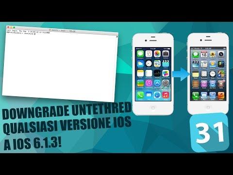 Downgrade iOS 8.4/8.4.1/7.1.x a iOS 6.1.3 iPhone 4S + iPad 2 NO iTunes o SHSH Blobs A5 Untethered