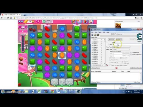 hack candy crush saga cheat engine 6.3