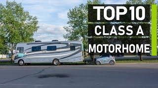 Top 10 Most Luxurious Class A Motorhomes & RV