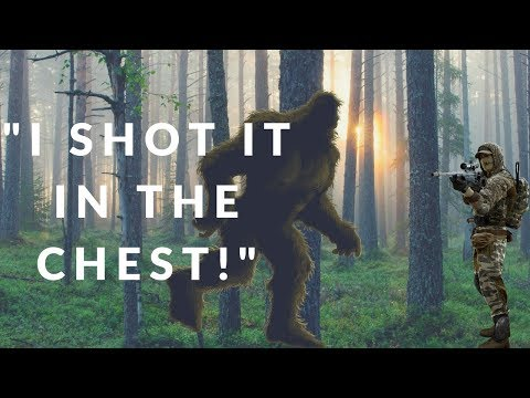 Military Bigfoot Cover-up? (Blood samples taken)  - True Story!