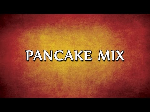 Pancake Mix | RECIPES | EASY TO LEARN
