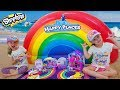 Finding Buried Treasure At Rainbow Beach With Shopkins Happy Places Toy Scavenger Hunt mp3