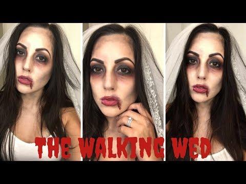 Easy Halloween Makeup Tutorial⎮ Zombie Bride
