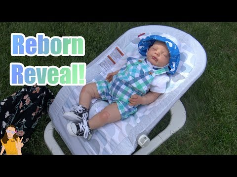 Reborn Baby Reveal! Welcome Gus! | Kelli Maple