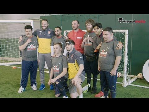 First-team stars help Arsenal in the Community
