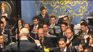Sociedad Unión Musical y Artística de Sax. Concierto Extraordinario de Santa Cecilia. Sábado 5 de diciembre de 2015. Teatro Municipal Cervantes de Sax. Director: Pedro Lara.