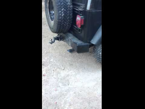 Old Jeep Has Loud Exhaust - sounds like rice