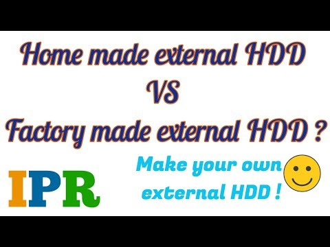 Home Made External HDD Vs  Factory Made external HDD | Indian Product Reviewer
