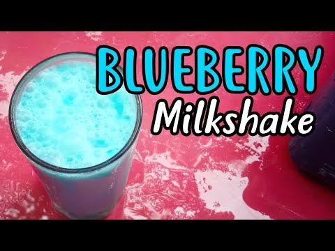 Blue Berry Milkshake