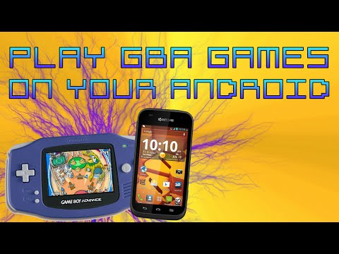 How to play GBA games on any android phone! (Step by step!)