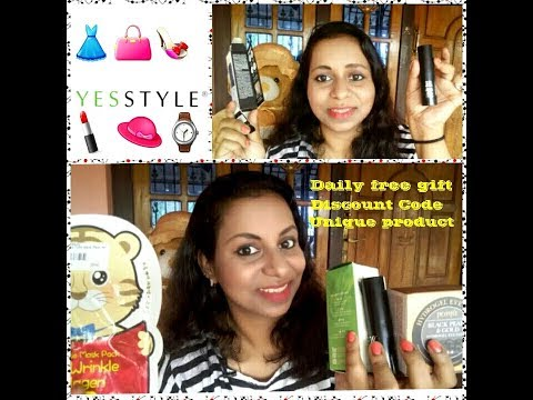 Yesstyle -Korean Beauty /Know all about Yesstyle with discounts & Free products 😀