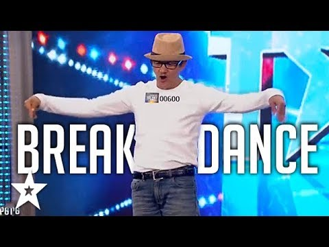 UNEXPECTED BREAKDANCER! OLD MAN Surprises Audience On Pilipina's Got Talent 2018   Got Talent Global