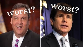 Worst 10 American Governors