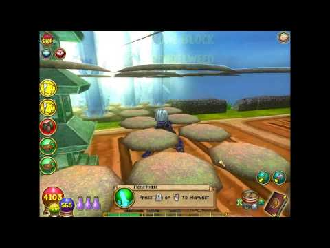 Wizard 101 MEGA Snacks and Blades Without Crowns or Battles!