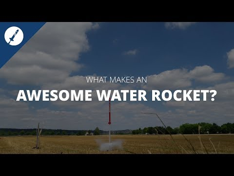 Learn how to build awesome Water Rockets 🚀 !