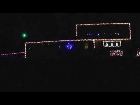 some christmas lights