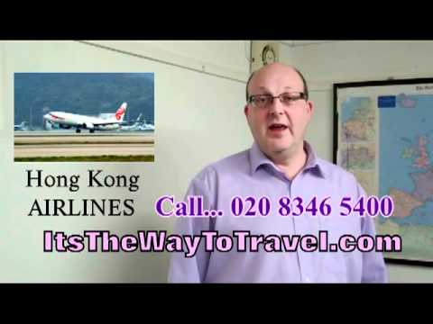 Hong Kong Airlines | UK Business Travel | Its The Way To Travel